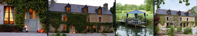 Special place to stay - Le Pas Cru luxury bed & breakfast b&b near Le Mont Saint Michel, Saint Malo France