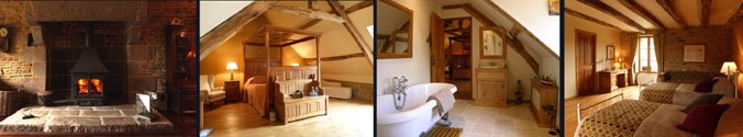 Le Pas Cru - A special place to stay Brittany Normandy border nr Mont St Michel, St Malo France