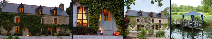 Le Pas Cru luxury bed and breakfast B&B nr Mont St Michel, St Malo France